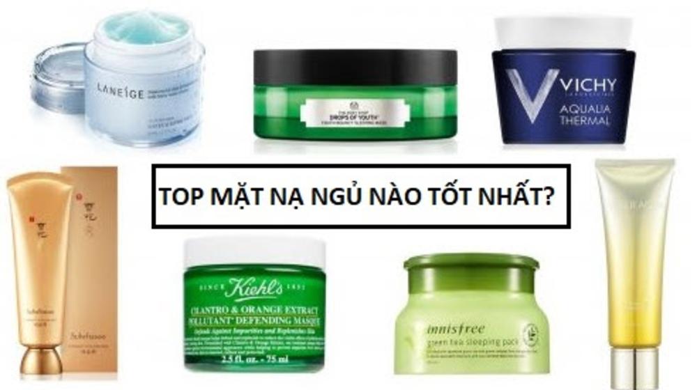 Review 5 mặt nạ ngủ dưỡng ẩm, an toàn cho làn da