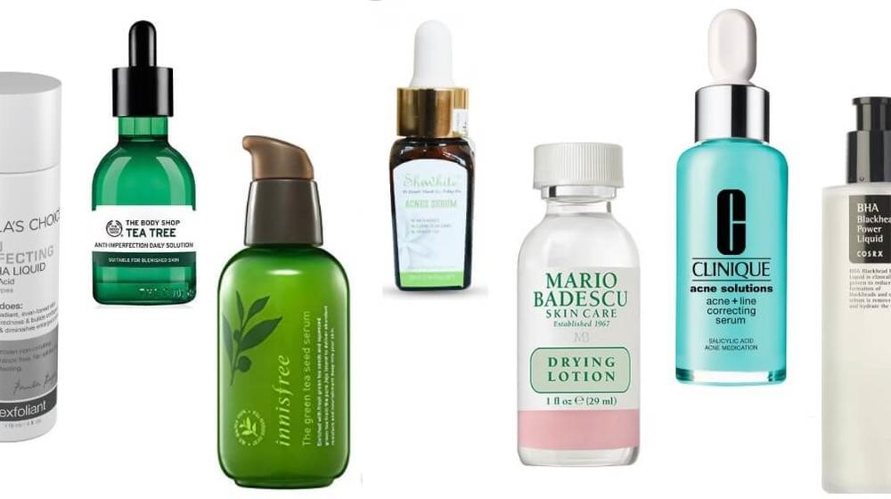 Top 5 serum trị mụn tốt nhất cho da mặt hiện nay