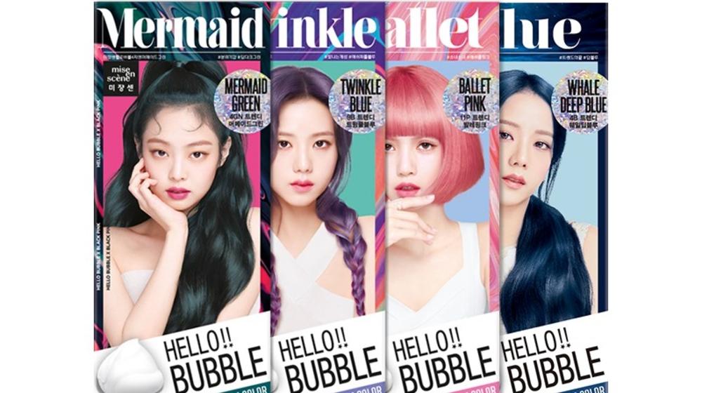 Chi tiết thuốc nhuộm tóc Hello Bubble BlackPink cực hot 2020