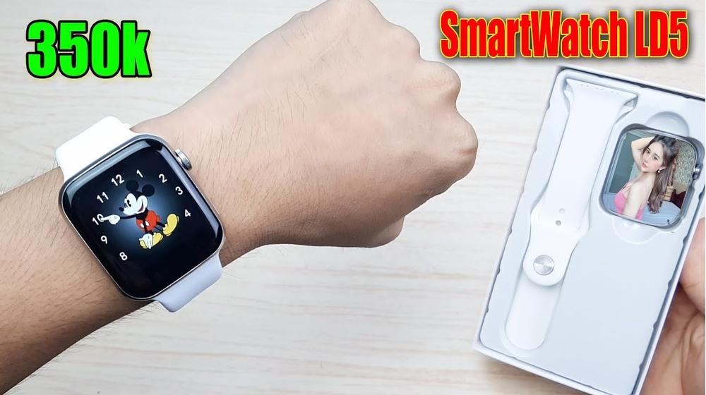 Review chi tiết đồng hồ thông minh Smartwatch LD5