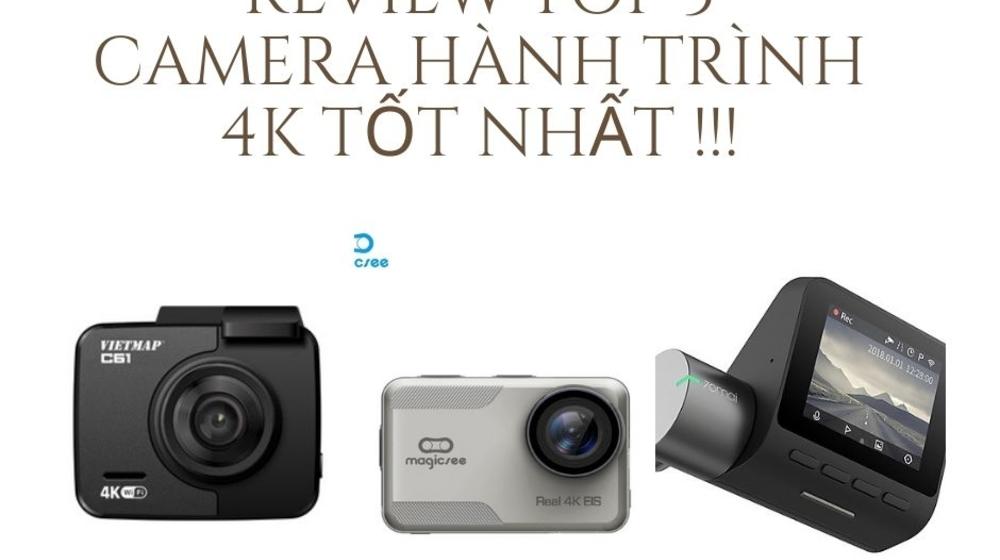 Top 3 camera hành trình 4K nhỏ gọn tốt nhất hiện nay!!