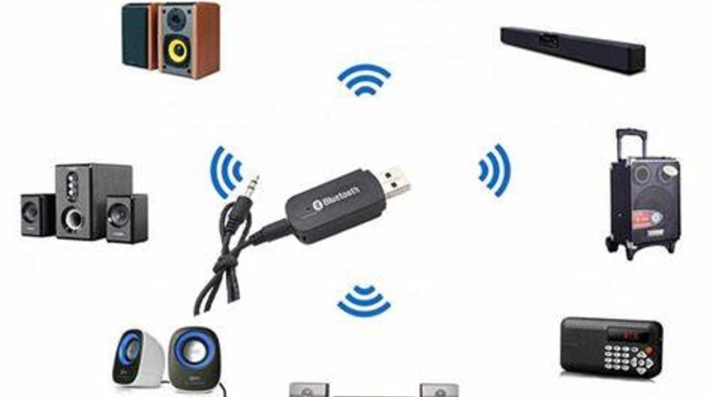 USB Bluetooth cho loa, biến loa thường thành loa không dây nhanh gọn!!!
