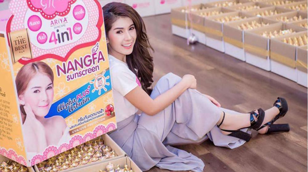 Review kem chống nắng Nangfa Thái Lan có tốt không, có phải kem trộn không?