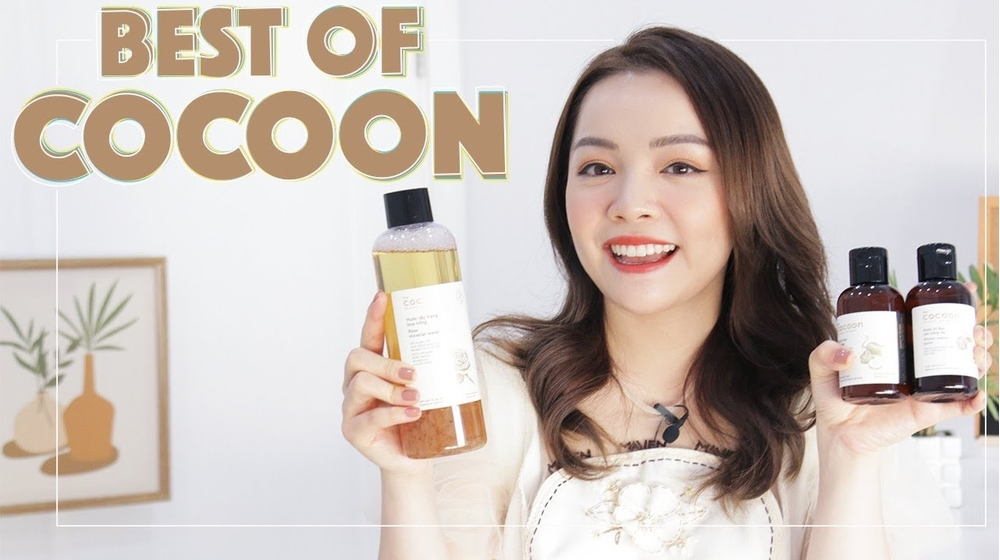 Review nước tẩy trang Cocoon Hoa hồng và Bí đao 500ml dùng kích ứng không