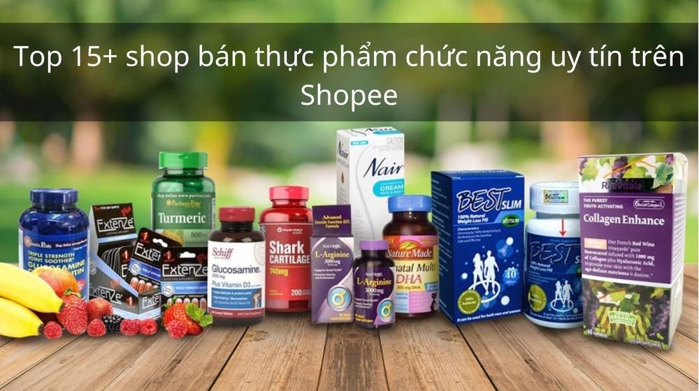 Top 15+ shop bán thực phẩm chức năng uy tín Nhật, Hàn, Úc