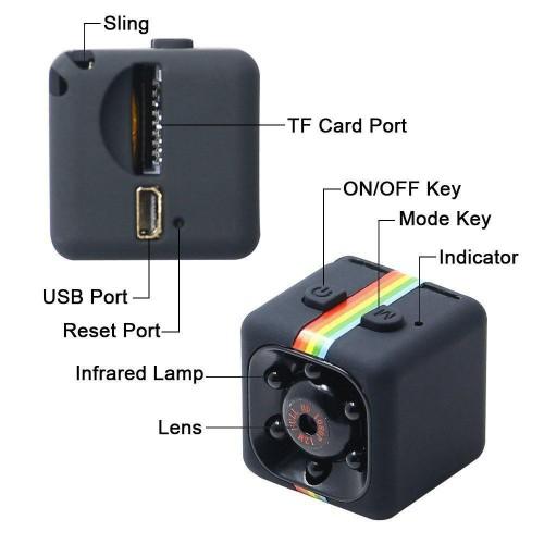 Camera Hành Trình Thể Thao SQ11 Full HD 1080