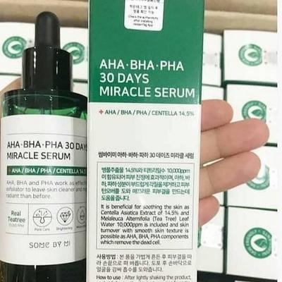 Serum trị mụn Some By Mi AHA-BHA-PHA 30 Days Miracle 50ml