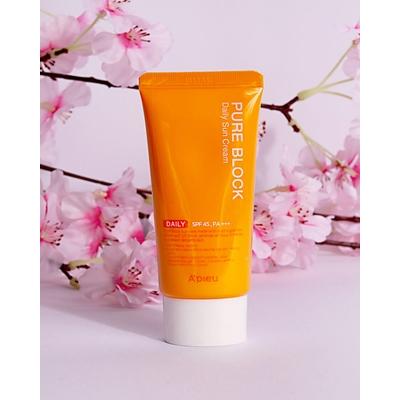 Kem chống nắng A\'Pieu Pure Block Natural Sun Cream SPF 45