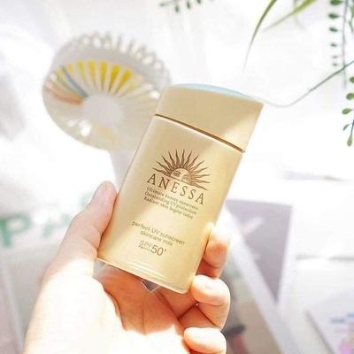 Kem chống nắng vật lý Anessa Perfect UV Sunscreen Skincare Milk