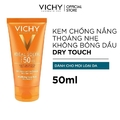 KEM CHỐNG NẮNG VICHY IDEAL SOLEIL MATTIFYING FACE FLUID DRY TOUCH