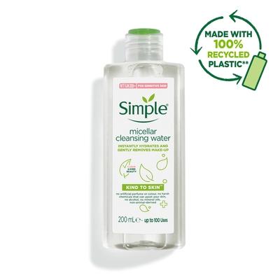Nước tẩy trang dịu nhẹ Simple Kind To Skin Cleansing Micellar Water
