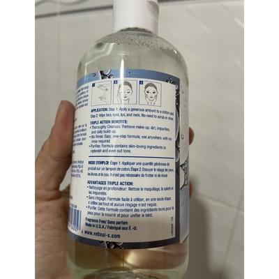 Nước tẩy trang Retinol-X Triple Action Micellar Cleasing Water