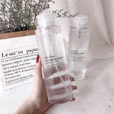 Nước tẩy trang Celderma Micellar Cleansing Water