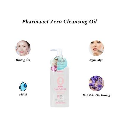 Dầu tẩy trang Kumano Pharmaact Zero