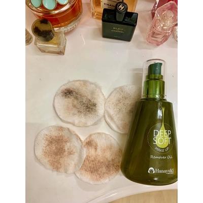 Dầu tẩy trang Hanayuki Deep Soft Make Up Remover Oil