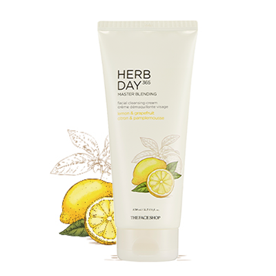 Kem Tẩy Trang The Face Shop 365 Herb Day Master Blending Cleansing Cream