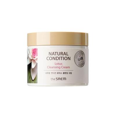 Kem Tẩy Trang The Saem Natural Condition Lotus