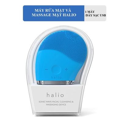 Máy rửa mặt Halio Facial Cleansing & Massaging Device