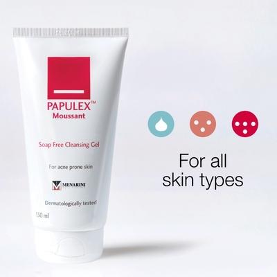Sữa rửa mặt Papulex Moussant Soap Free Cleansing
