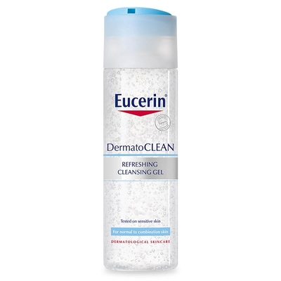 Sữa rửa mặt Eucerin Dermatoclean Refreshing