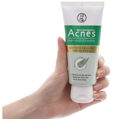 Bùn non rửa mặt Acnes Baby Mud Cleanser