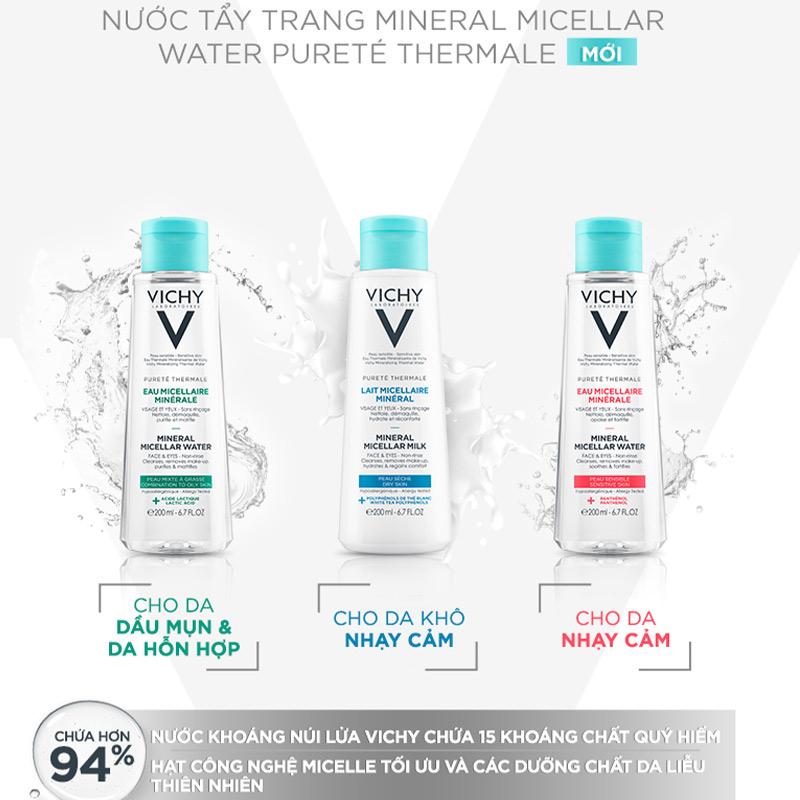 Nước tẩy trang Vichy review thực tế từ người sử dụng – Chăm sóc da