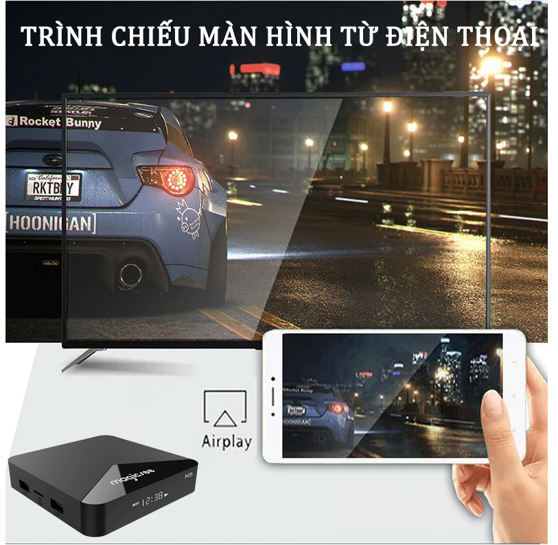 Android tv box Magicsee N5 android tv box tốt nhất 2019