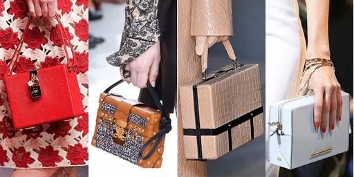 mẫu túi xách dáng hộp đẹp