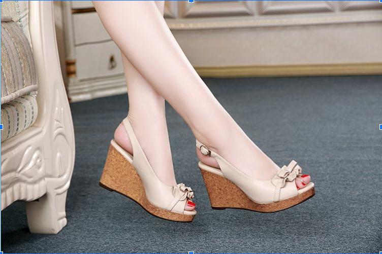 giày sandal nữ đẹp đế xuồng
