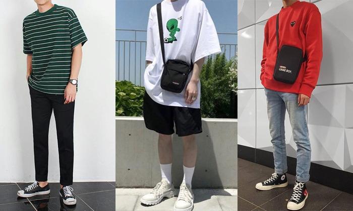 Phối Đồ Với Giày Sneaker Nam