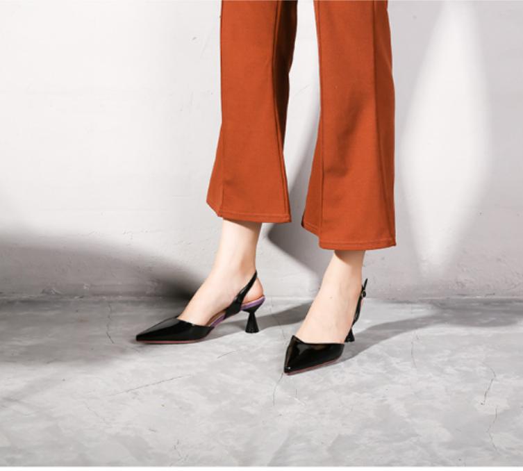 Giày sandal cao gót đế nhọn