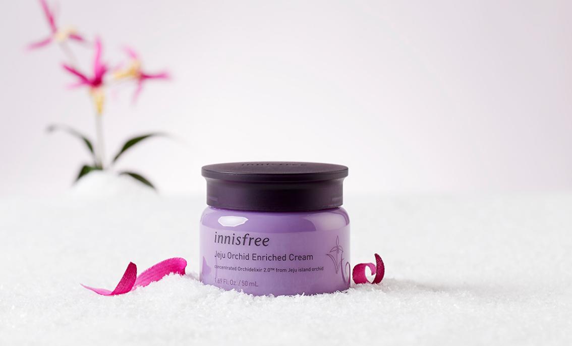 kem dưỡng ẩm innisfree jeju orchid enriched cream