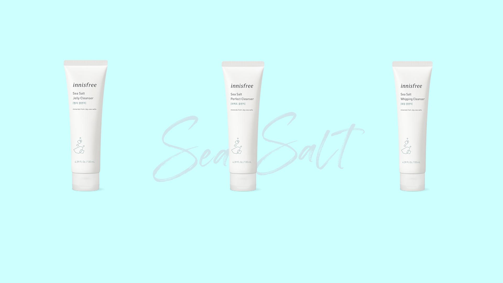 sữa rửa mặt innisfree sea salt